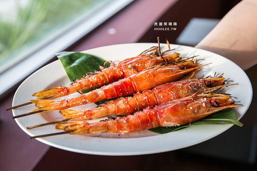 小紅食堂 胭脂蝦 NT$60/1隻 紅毛港文化園區 高字塔旋轉餐廳