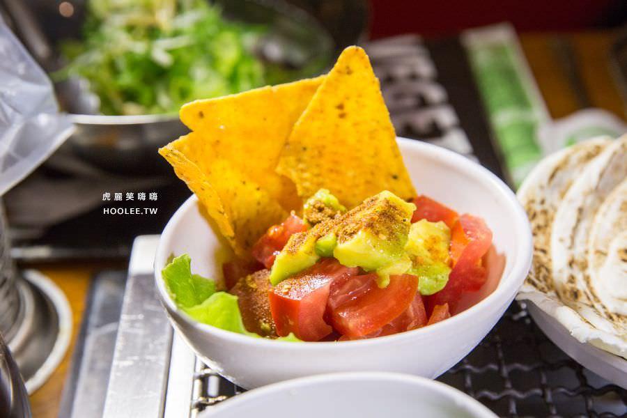 菜豚屋 高雄 日式韓式燒肉 墨西哥風酪梨番茄沙拉