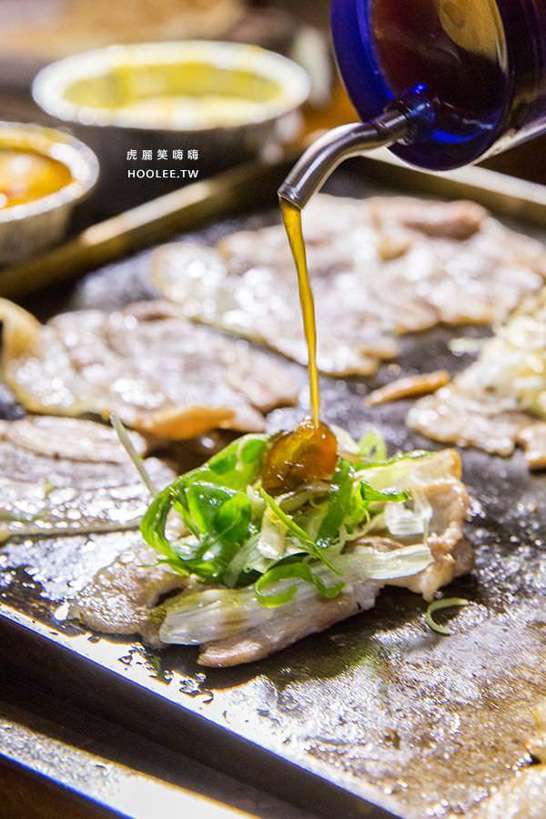 菜豚屋 高雄 日式韓式燒肉 元祖刨刀三層肉