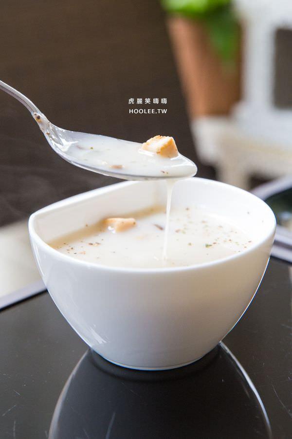嗜好咖啡坊 高雄前鎮咖啡廳 義大利麵、燉飯 主餐升級 +NT$99 濃湯