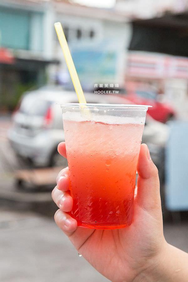 新關仔角夜市 Anjung Gurney 檳城美食 豆蔻汁