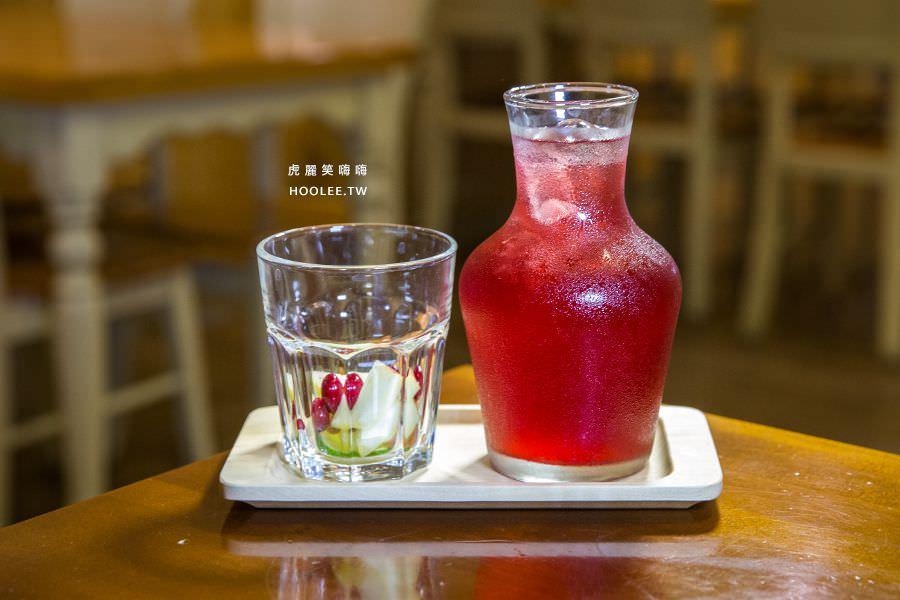 濰克早午餐 高雄早午餐 野莓花青水果茶 NT$65