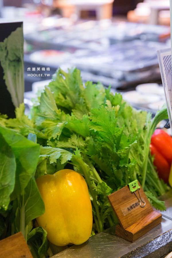 捷絲旅 蔬食百匯 Double Veggie 高雄素食吃到飽 在地小農的有機蔬菜 有機荷葉白菜