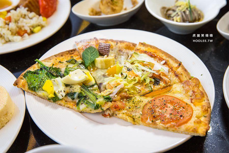 捷絲旅蔬食百匯 Double Veggie 高雄素食吃到飽 披薩吃到飽