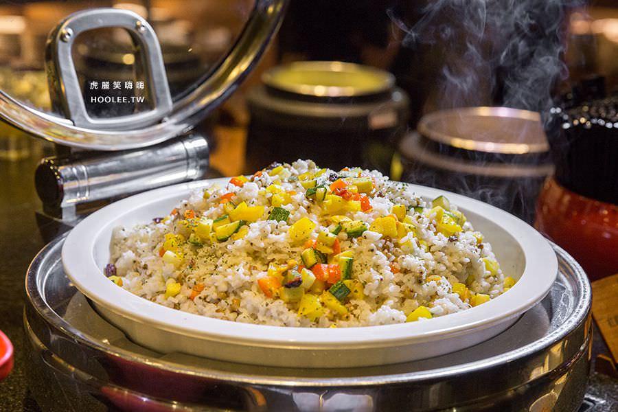 捷絲旅 蔬食百匯 Double Veggie 紅穀薏仁燉飯