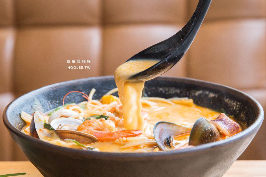 瑪莉桃桃 親子餐廳 泰式豚骨香檸義大利湯麵 海鮮口味 NT$260