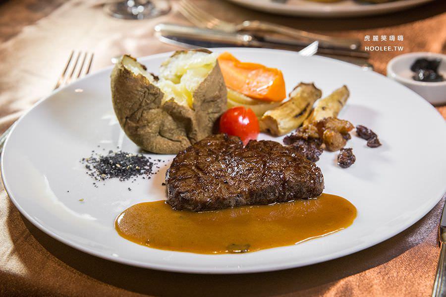 漢來大飯店45樓牛排 炭烤鹿兒島A5菲力和牛(6盎司) NT$3850