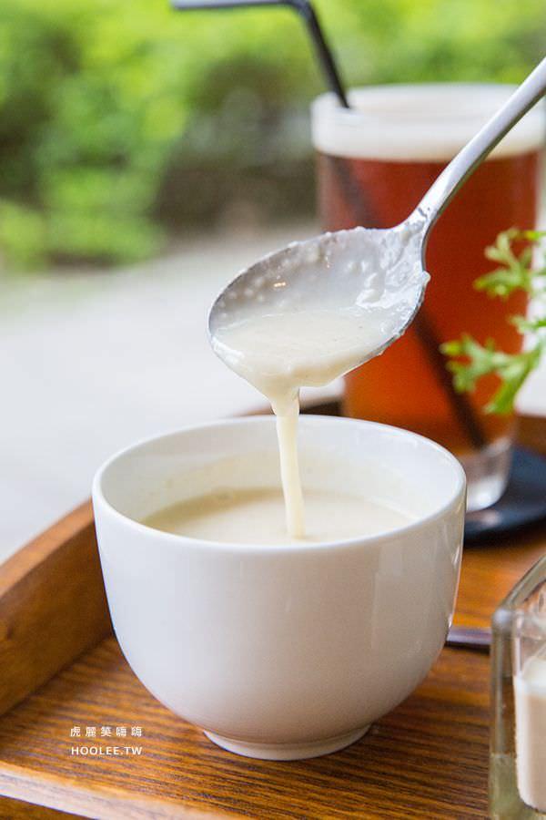 柒五參咖啡館 高雄早午餐 慢火乾煎櫻桃鴨胸 濃湯