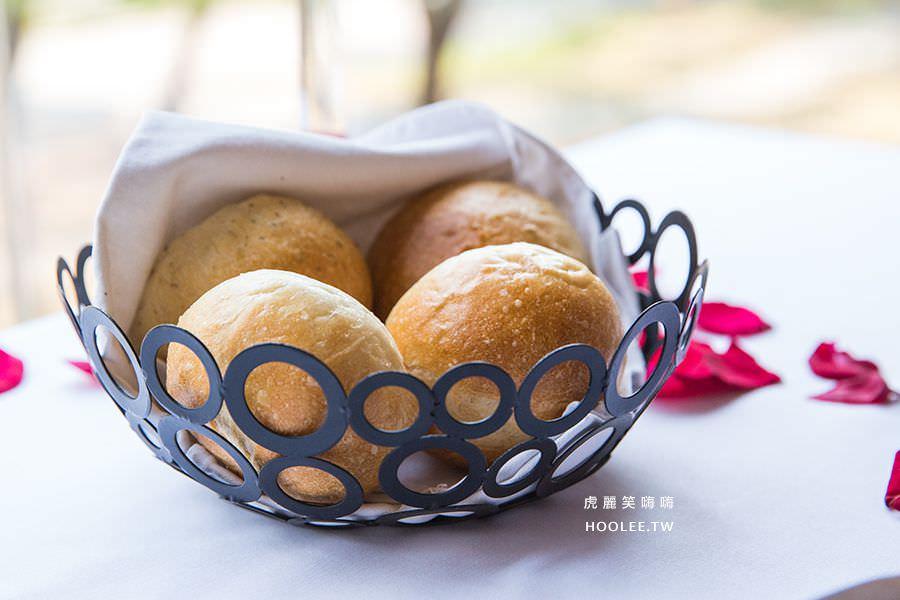 安多尼歐法式餐廳 高雄 約會 慶生 餐廳 麵包
