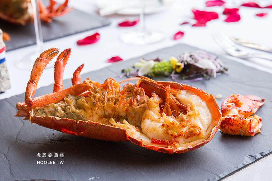 安多尼歐法式餐廳 高雄約會餐廳 龍蝦加購1800,一公斤龍蝦