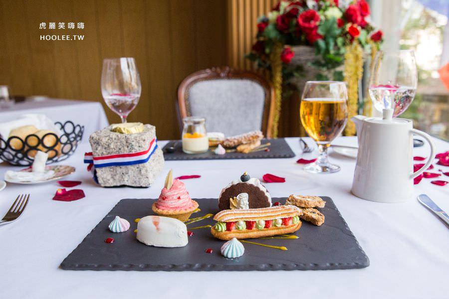 安多尼歐法式餐廳 高雄約會餐廳 甜點餐車