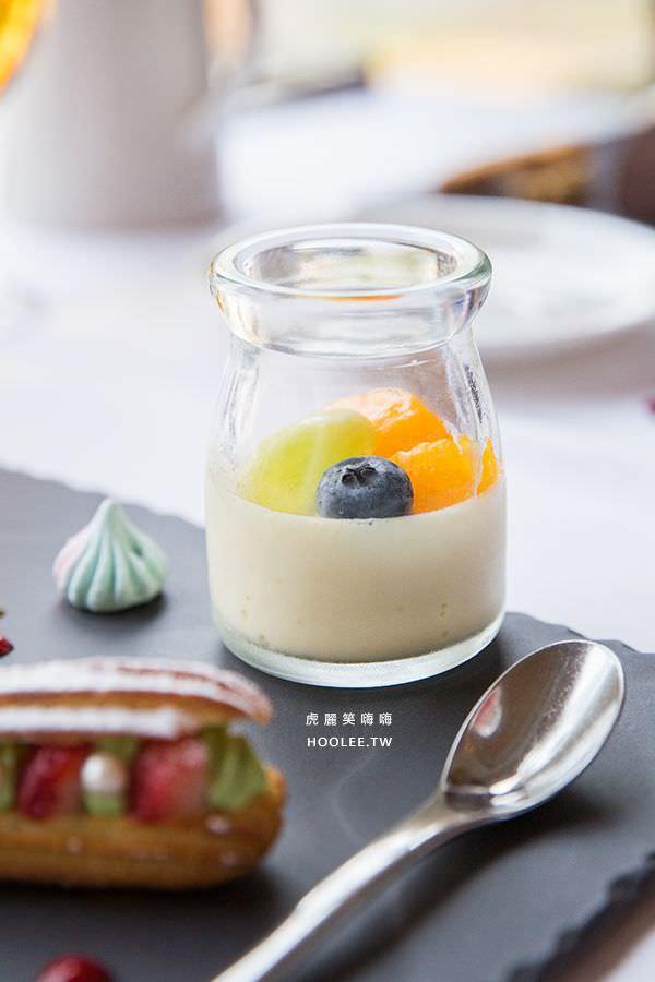 安多尼歐法式餐廳 高雄約會餐廳 水果布丁