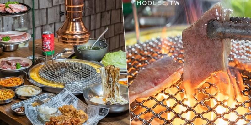 春花燒肉(高雄)肉食聚餐宵夜推薦!三層手切肉大滿足套餐,還有超驚喜漂浮炸醬麵