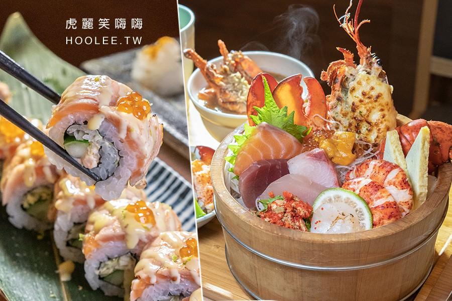 佐渡森壽司(高雄)每日限量波士頓龍蝦丼飯!超霸氣五種吃法最過癮,推薦炙燒火焰鮭魚壽司捲