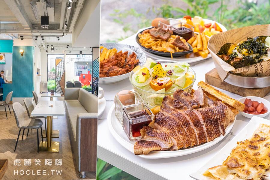 早餐一夏(屏東)香榭驛舍新開早午餐!超大霸氣櫻桃鴨胸拼盤,重口味必吃韓式烤肉拌飯
