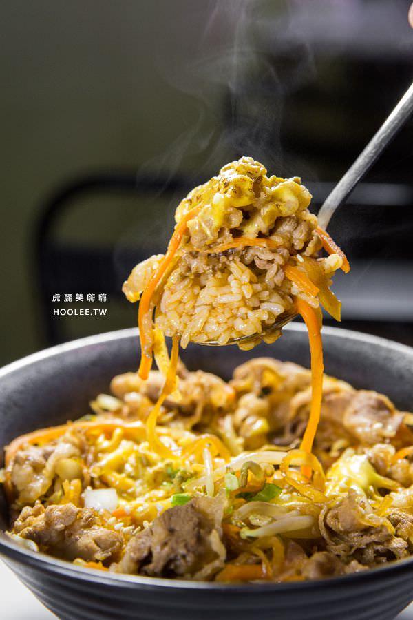 豚丼 日式炒麺 丼飯 韓醬牛肉丼 NT$90 + 起司 NT$10