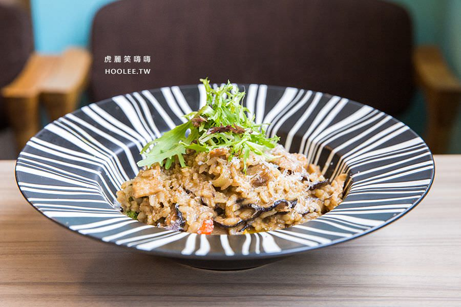 Poppy Waffle 高雄早午餐 牛肝菌燉飯 NT$249
