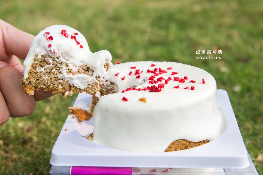 奧瑪烘焙 高雄 爆漿伯爵奶蓋蛋糕(四吋) NT$89