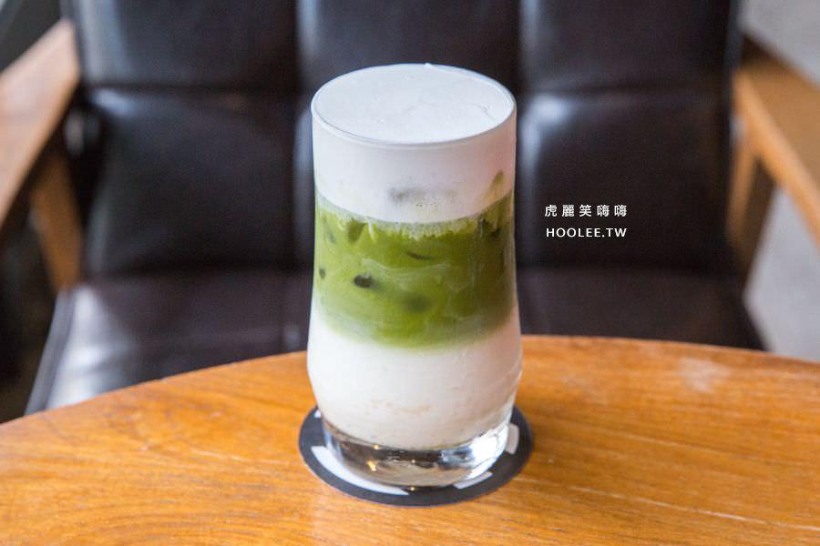 黑浮咖啡 楠梓店 醇厚抹茶蜂蜜歐蕾 $130