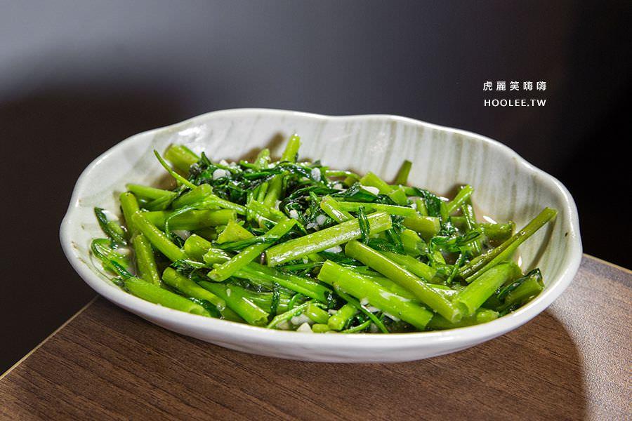 泰燒異國鍋燒 高雄 蝦醬空心菜 NT$80