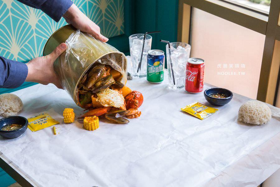 小越廚創意越式料理 高雄 海鮮抓抓桶 NT$1988(2人份)打卡 NT$1688