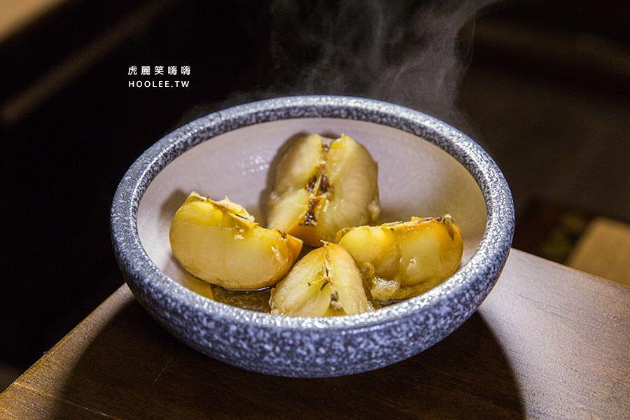 22號碼頭海景餐廳 高雄 關東煮 蘋果 NT$30