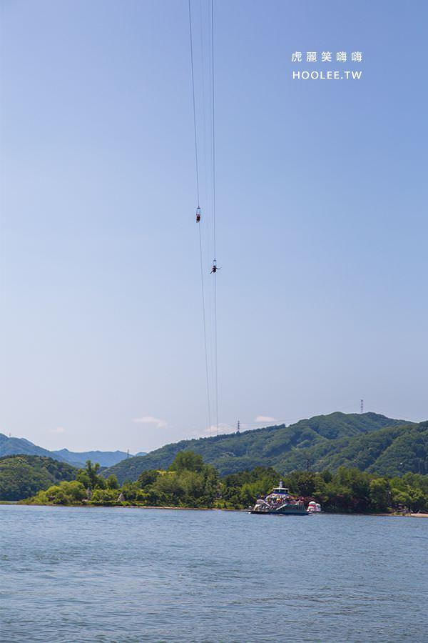 南怡島 韓國景點 高空飛索 韓幣44,000