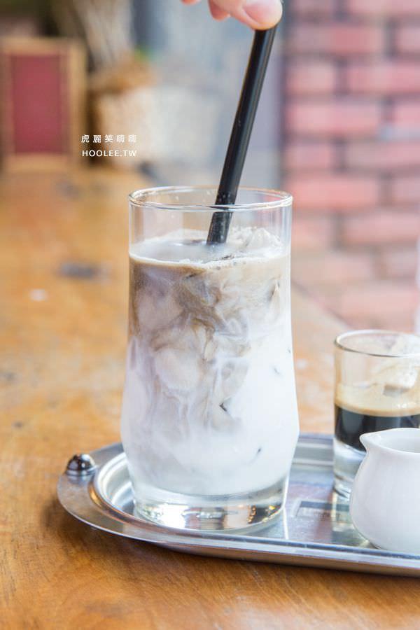 黑浮咖啡 高雄咖啡廳 大理石拿鐵 NT$150