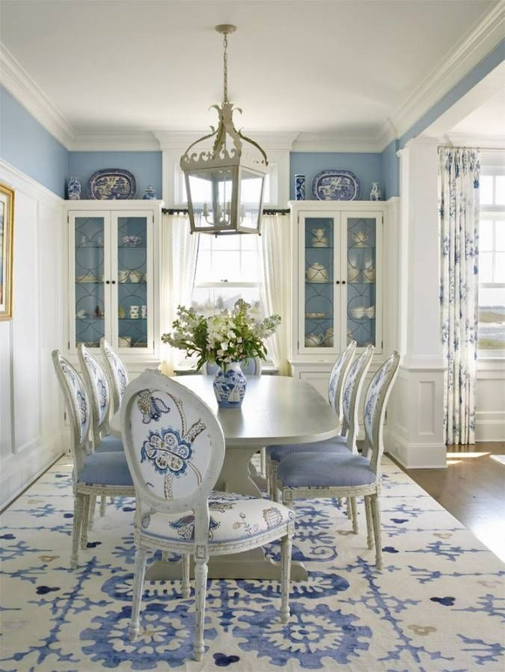 Amazing Summer Dining Room Decor Ideas 22
