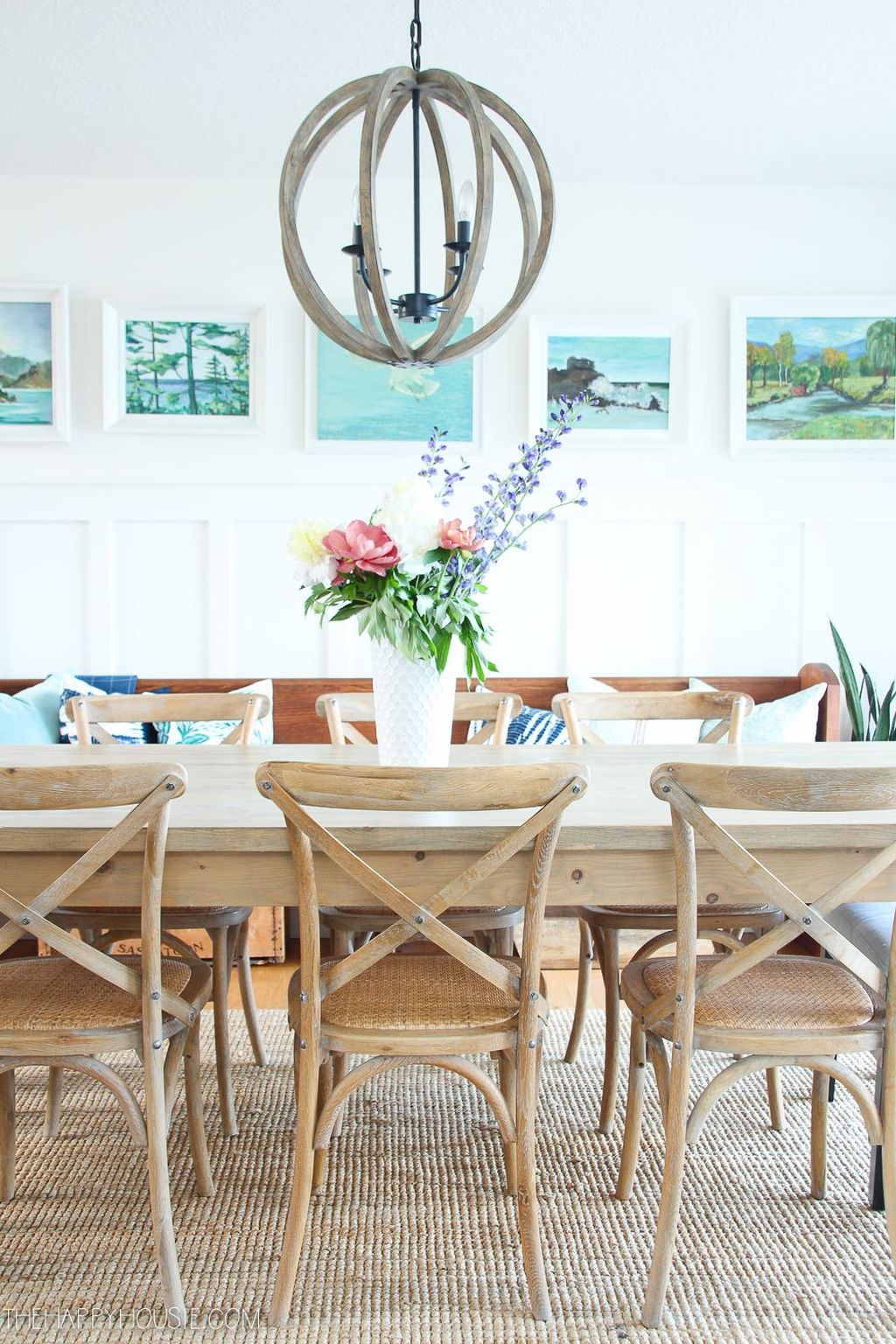 Amazing Summer Dining Room Decor Ideas 36