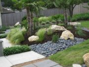 Beautiful Modern Rock Garden Ideas For Backyard Landscaping 21