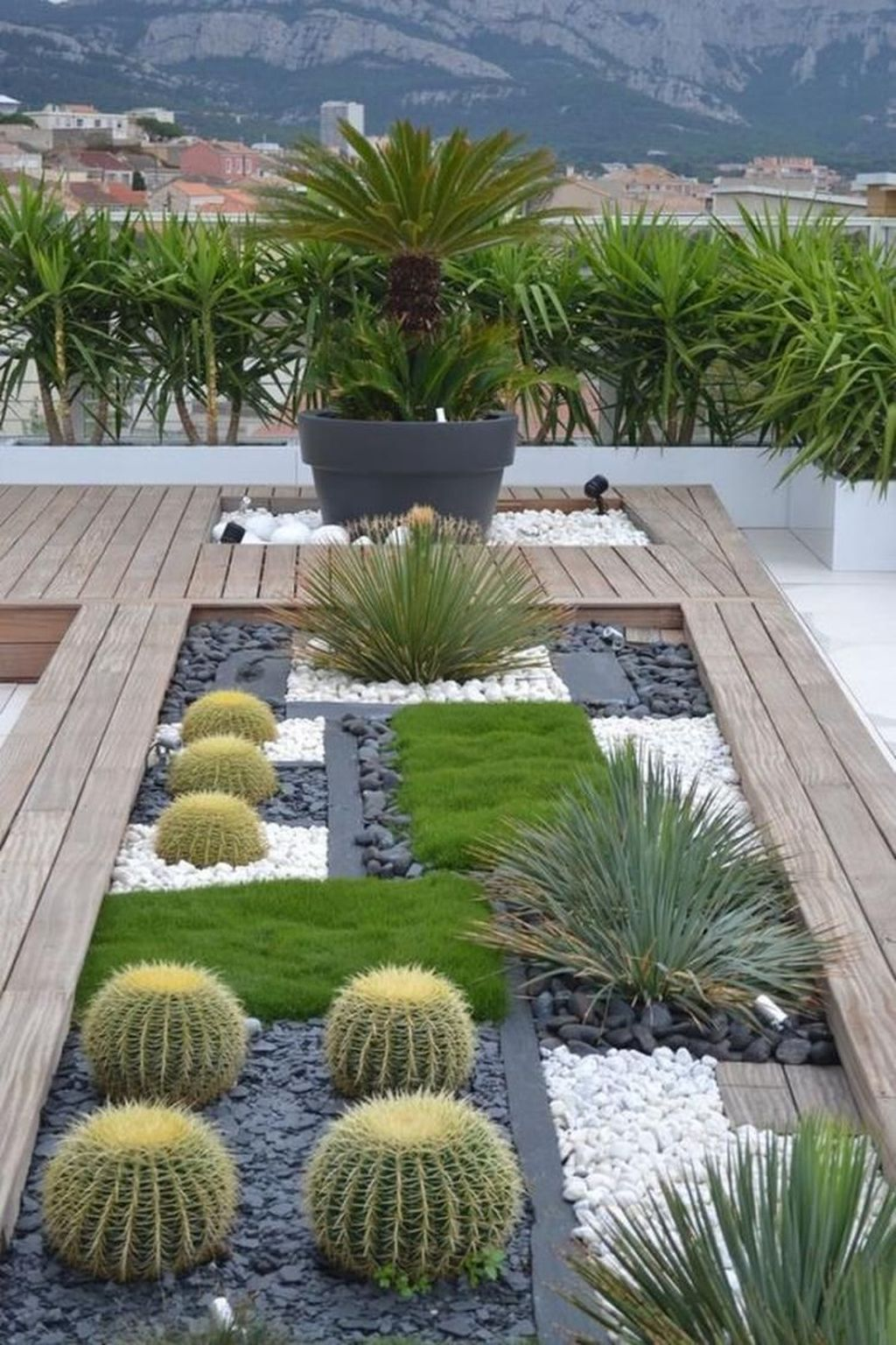 Beautiful Modern Rock Garden Ideas For Backyard Landscaping 26
