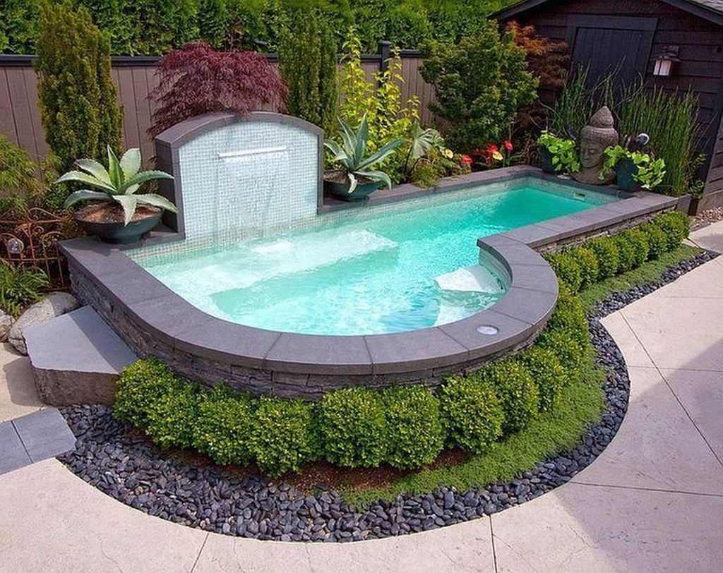 Lovely Small Swimming Pool Design Ideas On A Budget 22