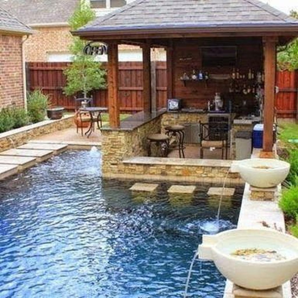 Lovely Small Swimming Pool Design Ideas On A Budget 31