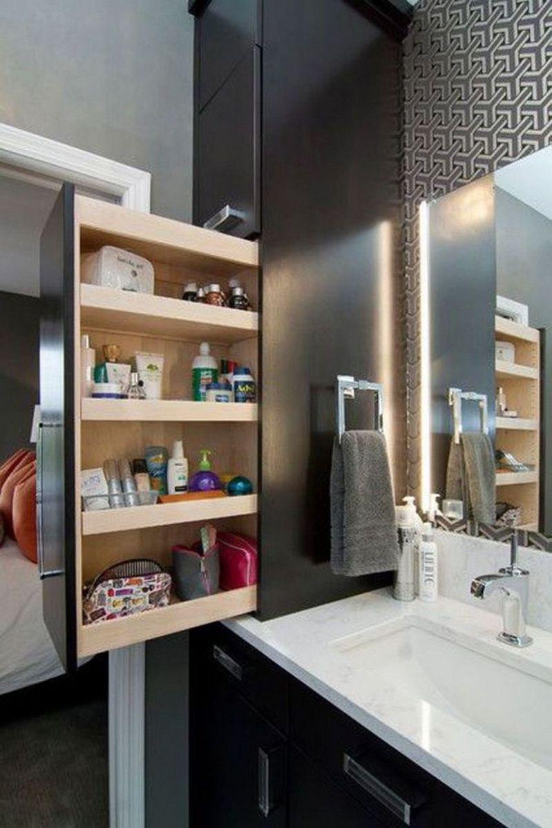 Amazing Bathroom Storage Design Ideas For Small Space 01