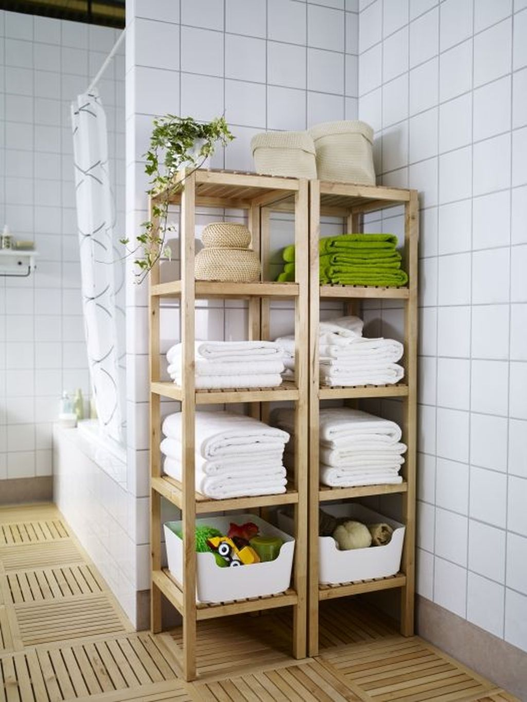 Amazing Bathroom Storage Design Ideas For Small Space 19