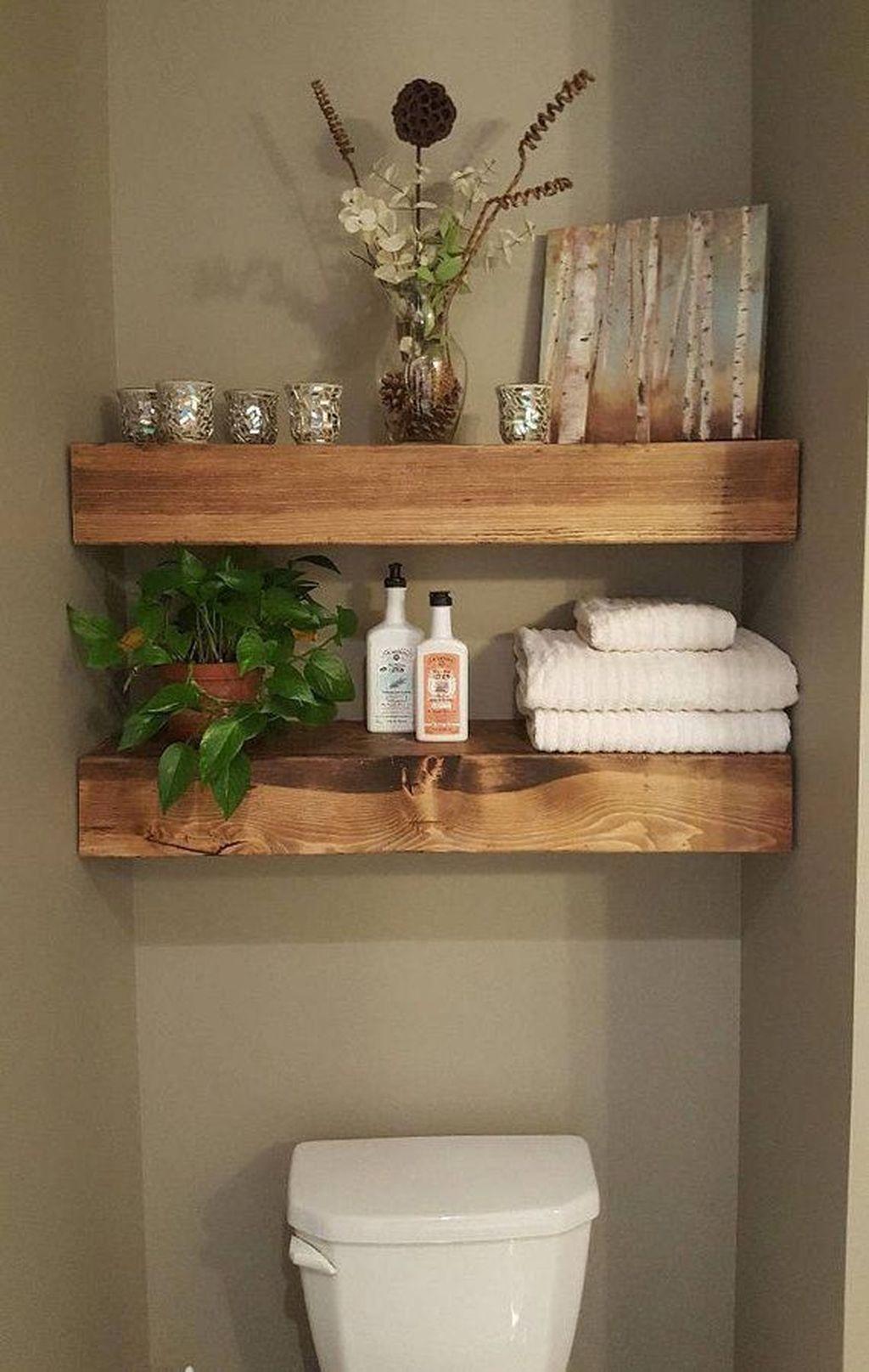 Amazing Bathroom Storage Design Ideas For Small Space 23