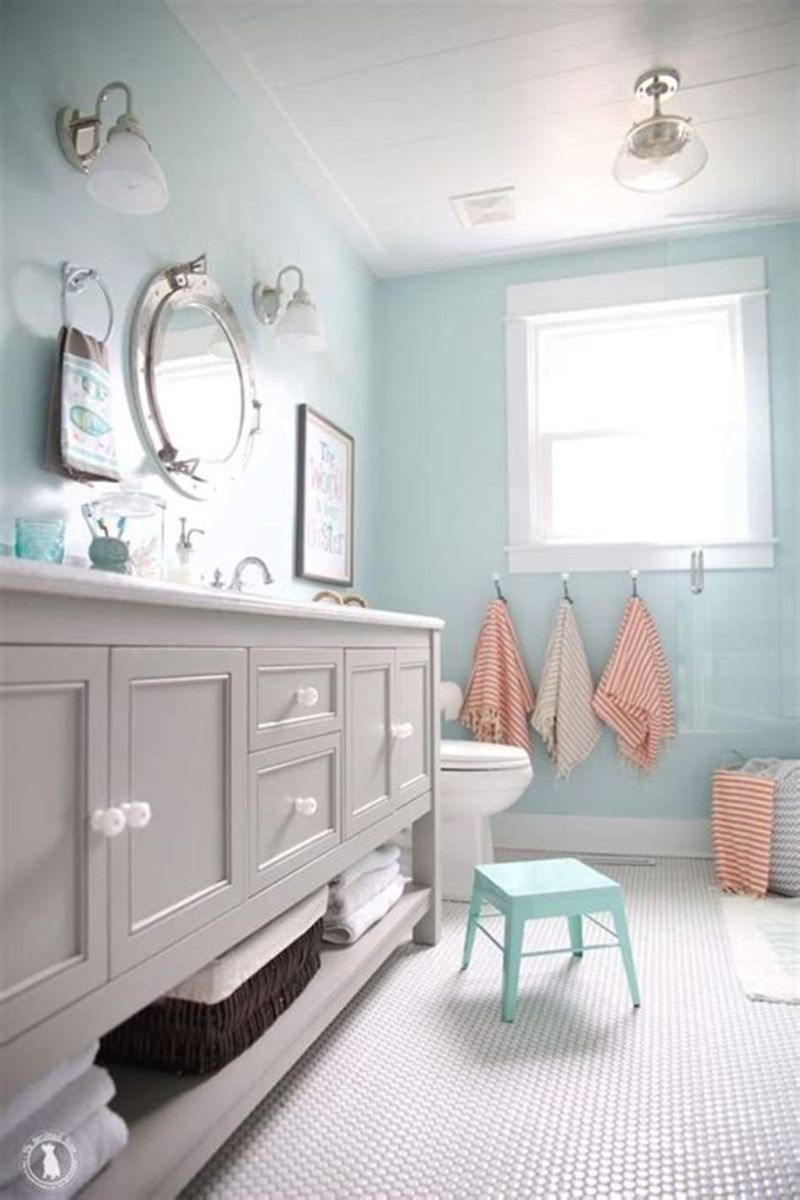 Amazing Beach Bathroom Decoration Ideas 12