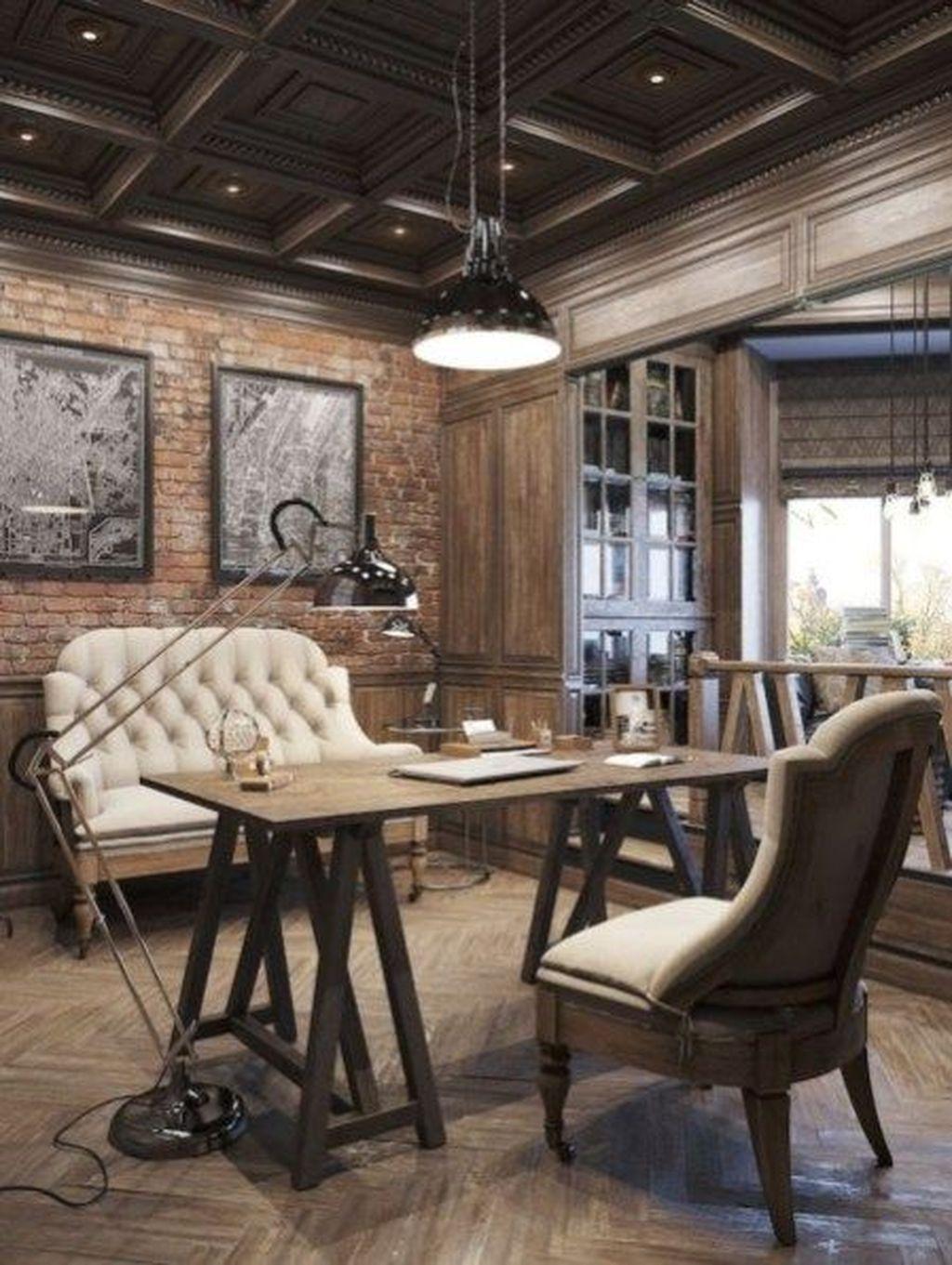 Amazing Contemporary Home Office Design Ideas 06