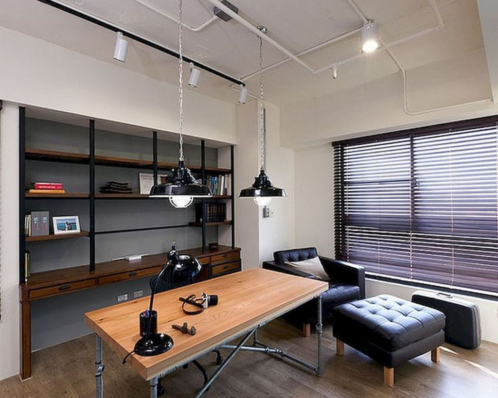 Amazing Contemporary Home Office Design Ideas 16