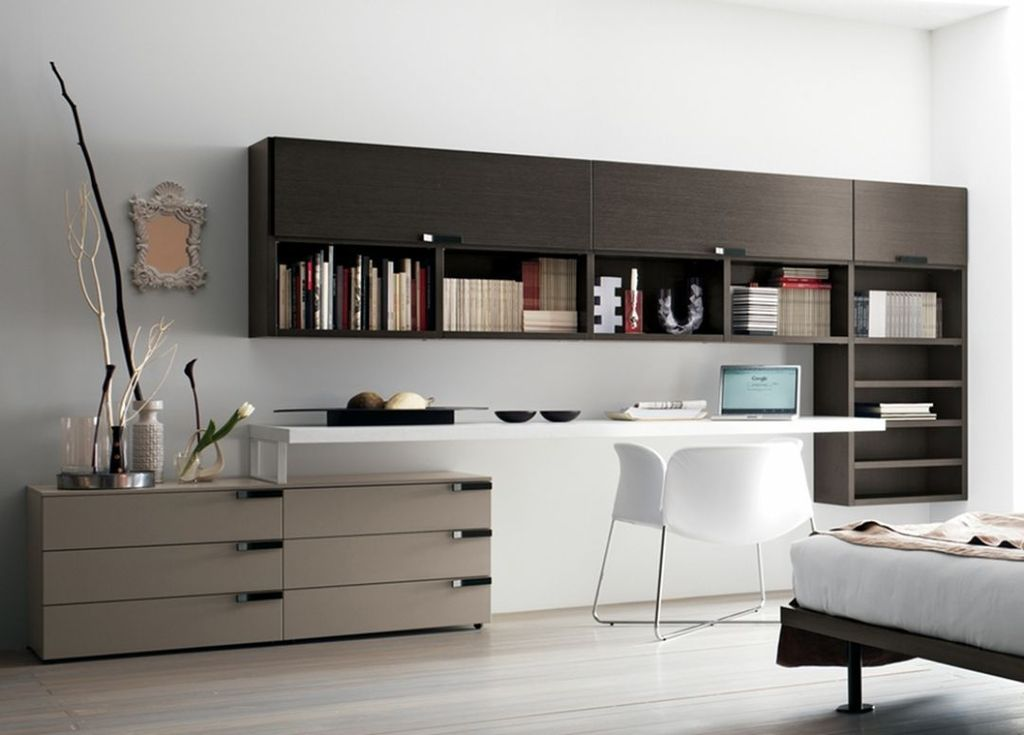 Amazing Contemporary Home Office Design Ideas 26