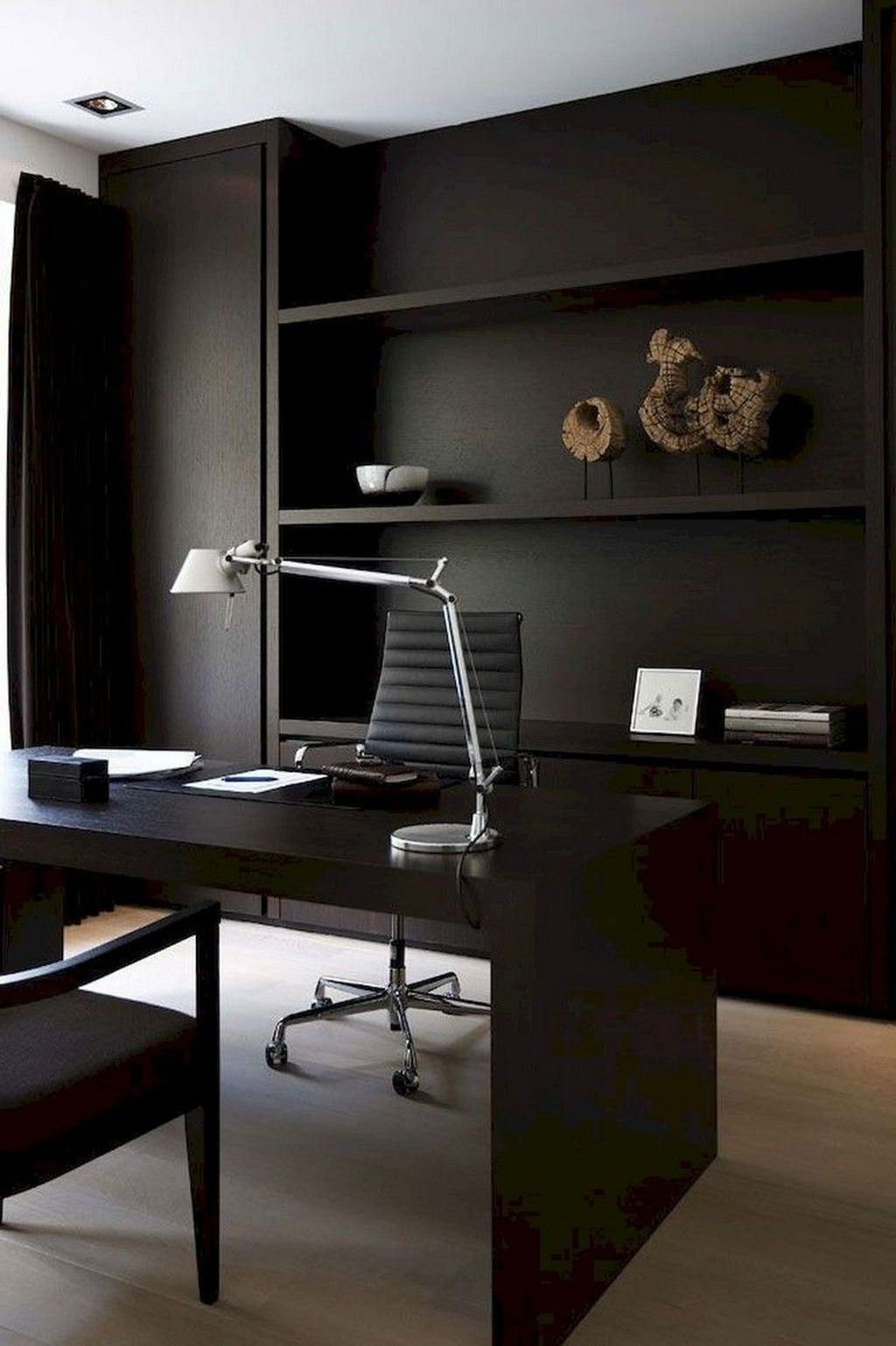 Amazing Contemporary Home Office Design Ideas 33