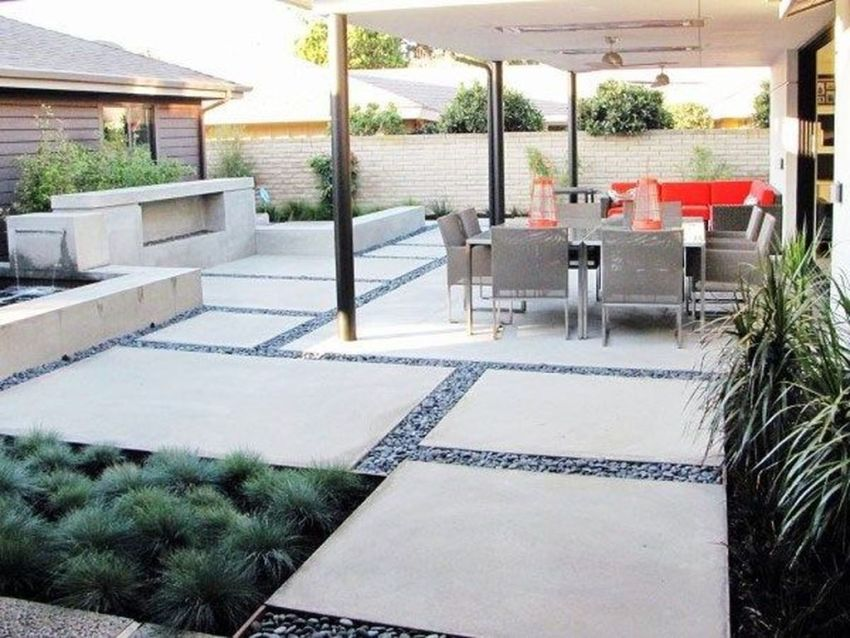 Awesome Backyard Landscaping Ideas With Elegant Accent 25