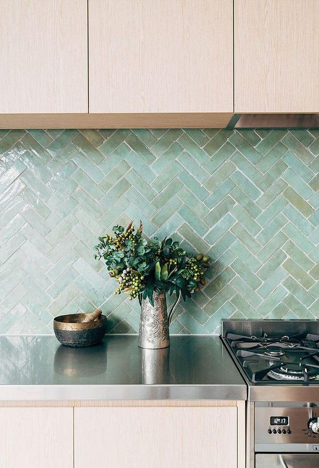 Awesome Creative Kitchen Backsplash Ideas 10
