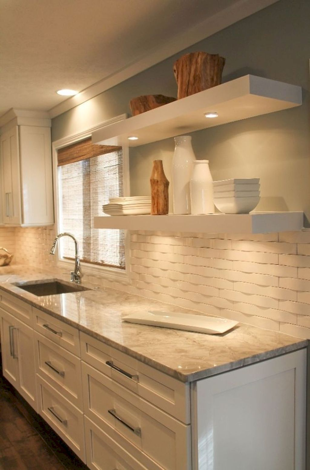Awesome Creative Kitchen Backsplash Ideas 32