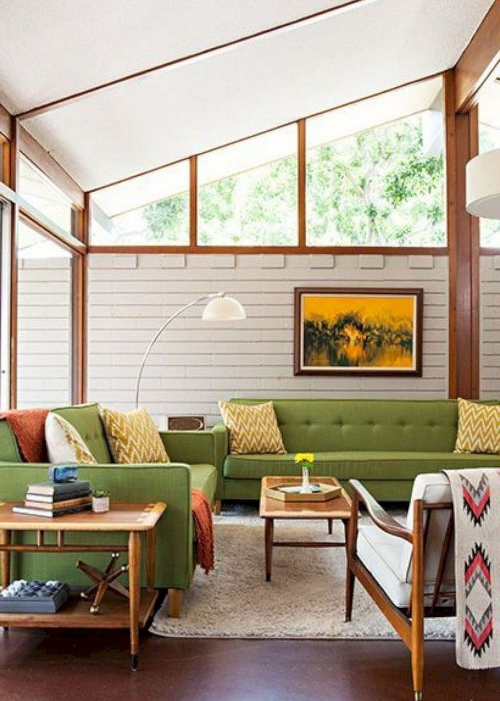 Awesome Modern Mid Century Living Room Decoration Ideas 21