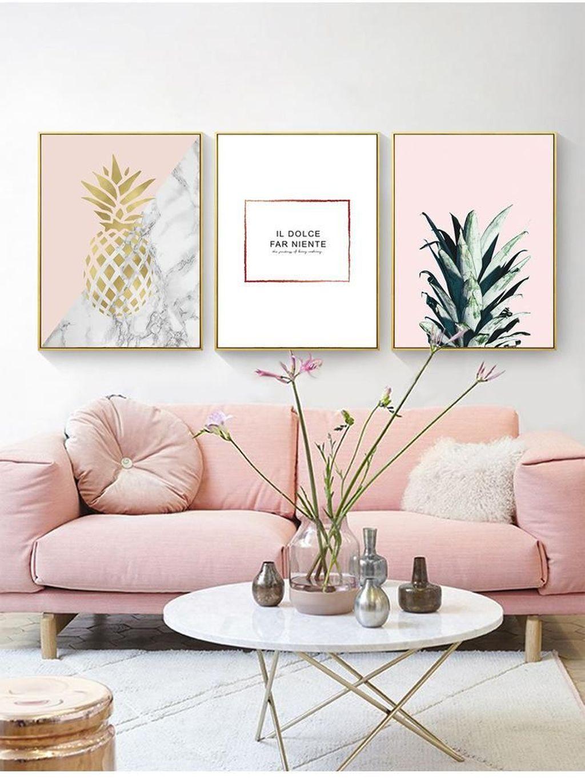 Beautiful Pink Living Room Decor Ideas 27