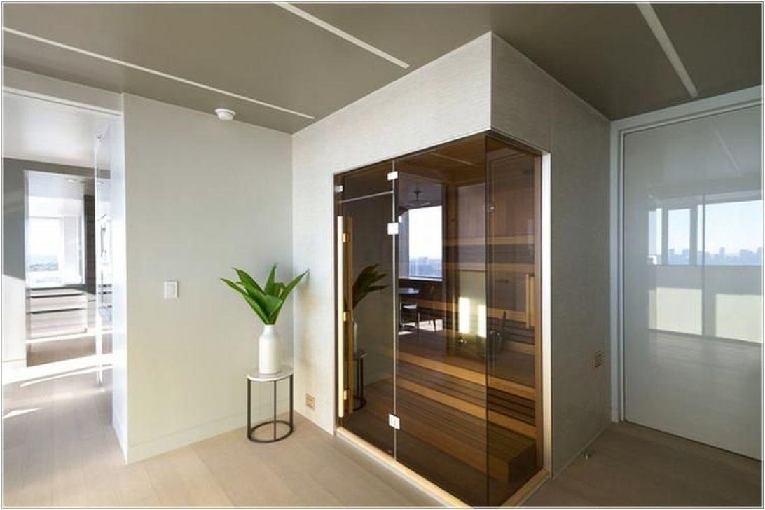 Beautiful Sauna Design Ideas For Your Bathroom 12