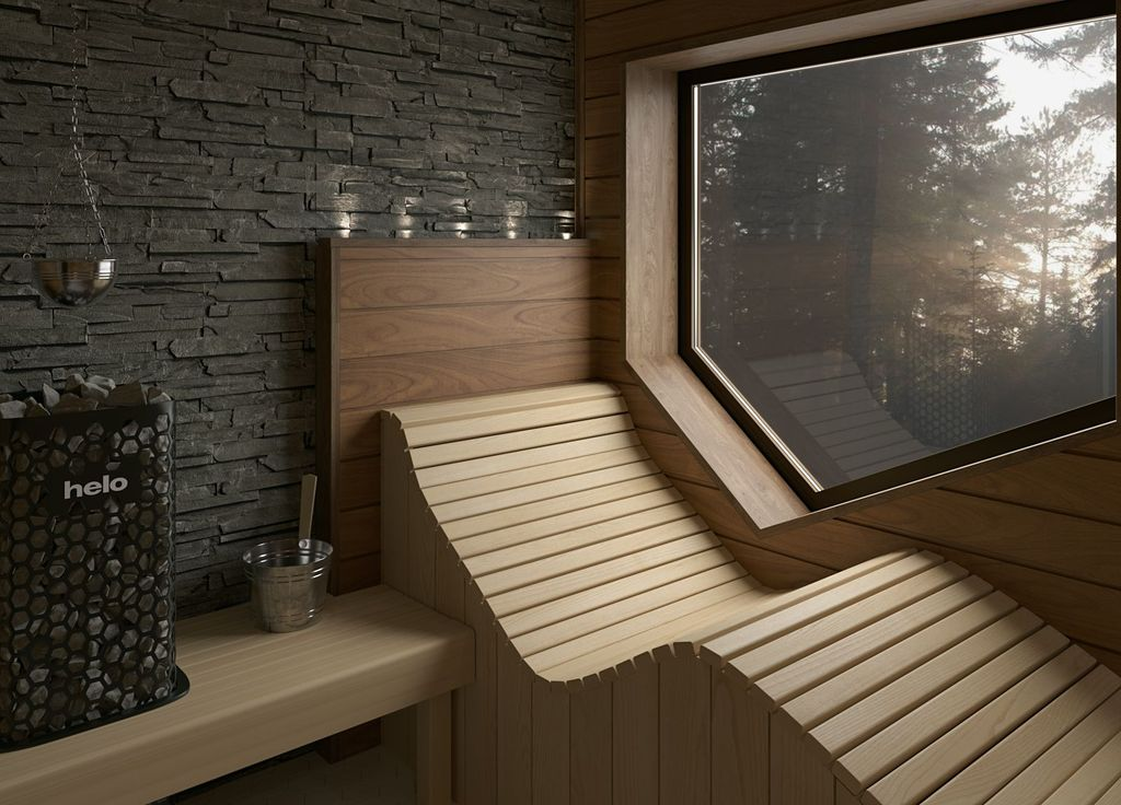 Beautiful Sauna Design Ideas For Your Bathroom 29