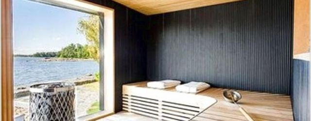 Beautiful Sauna Design Ideas For Your Bathroom 35